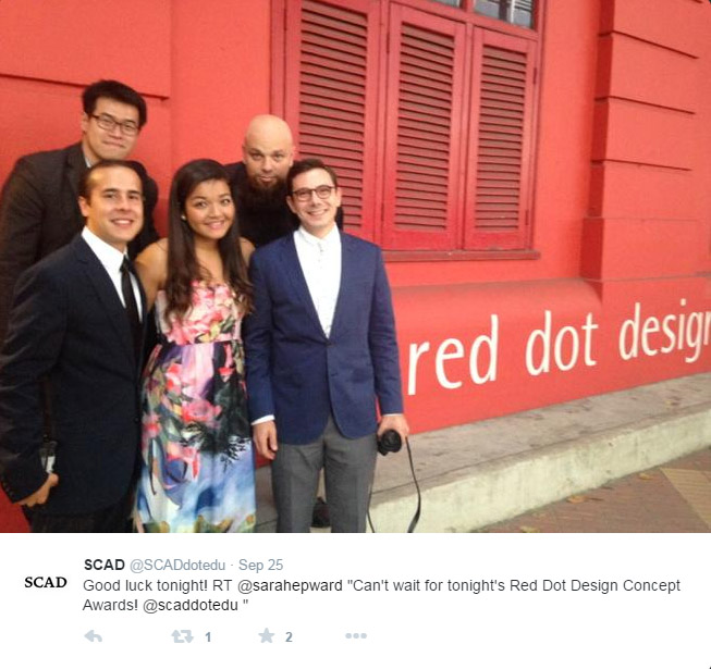 SCAD Red Dot